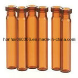 25ml Orange Flacon de verre tubulaire