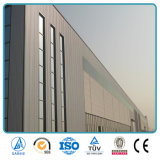 Colorear la construcción industrial del taller de la estructura de acero en China