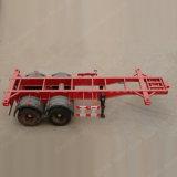 Skeleton Chassis des Behälter-2axle oder Behälter-halb Schlussteil für Verkauf
