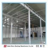 Estantes de montagem em rack China Plataforma de aço de mezanino de armazenamento