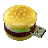Movimentação do flash do USB do Hamburger da vara da memória do USB da pizza