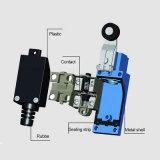 Série imperméable à l'eau du commutateur de limite 250VAC Tz-8/commutateurs de limite électriques