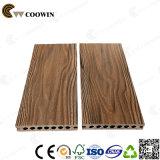 Ширина 150mm палубы смеси WPC смешанного зерна цвета 3D деревянного деревянная пластичная