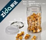Flip Top Cap Pet Material Frascos de plástico farmacêutico