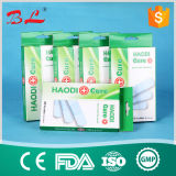 Pele Cor Tecido Elástico Band Aid Wound Plaster Surgical Plaster Band Aids (BL-015)