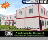 Wellcampの二階建てのプレハブのオフィスの容器の家
