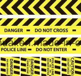PE/Aluminum 포일 탐지가능한 경고 테이프