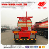 3 assen 18cbm Semi Aanhangwagen van de Tanker van het Vervoer van het Zwavelzuur