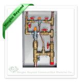 Tmv 온도 조절 장치 섞는 벨브 비상사태 온수기를 위한 옥외 금속 내각