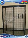 Galvanizado gran caja de almacenamiento / cesta / jaula (SSW-F-007)