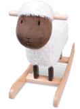 Alimentação de fábrica Rocking Horse Toy- Cordeiro Botão Basculante