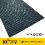 La superficie de tejido de bambú suelos de vinilo tejido