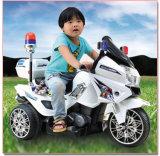 بالجملة ذاتيّة شرطة يرحل درّاجة ناريّة فتية لعبة عربة شرطة درّاجة ناريّة كهربائيّة