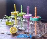 Trinkendes Glas-Maurer-Großhandelsglas mit Griff