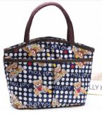 Bolsas coloridas de lona almoço bag bolsa Mamãe a granel