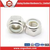 Nyloneinlage-Gegenmutter ANSI/DIN982/DIN985