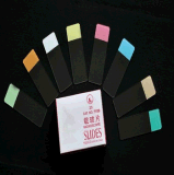 Diapositives de microscope couleur -7109