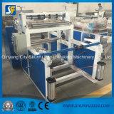 Papel higiénico da eficiência elevada que rebobina cortando a máquina de processamento de papel do produto da maquinaria