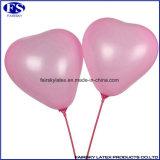 Herz-geformte Latex-Ballon Helium-Luftballons 2017