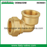 L'ottone di qualità ha forgiato il gomito del pallet della parete di compressione (AV70026)