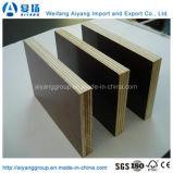 Grado de la construcción de 18mm película marrón/negro ante la madera contrachapada