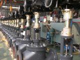 Valve résistante entraînée par un moteur électrique et électrique