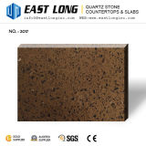 Brames Polished de pétillement de pierre de quartz pour conçu/cuisine avec le matériau de construction extérieur solide