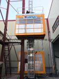 Constructeur de la Chine de qualité élévateur de construction de crémaillère et de pignon de 1 tonne
