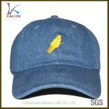 Chapéus não organizados dos homens do tampão feito sob encomenda do chapéu do paizinho da sarja de Nimes do basebol
