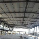 Taller de la estructura de acero del fabricante de la fábrica con las hojas acanaladas del material para techos
