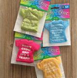 T-shirt novidade personalizado colorido Ambientador presente de promoção de tecido