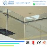 12mm 1/2 Niedriges-e freies niedriges Eisen abgehärtetes Sicherheits-ausgeglichenes Glas für Balustrade