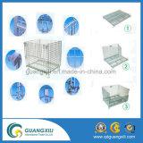 Оцинкованный наращиваемые сварной проволочной сеткой контейнер для склада