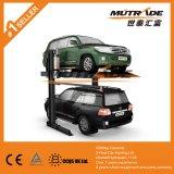 2 Pfosten-doppelte Plattform-hydraulischer Auto-Parken-Aufzug