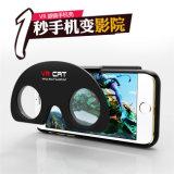 Virtuele Werkelijkheid die 3D Geval van de Telefoon van Glazen Vr voor iPhone vouwen 5 6 ABS + Geval van de Telefoon van PC Vr het Mobiele