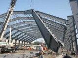 Здание мастерской стальной структуры Pre-Проектированное/полуфабрикат мастерская (DG-SSW166)