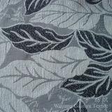 Полиэфир 100% синеля листьев жаккарда для домашней софы
