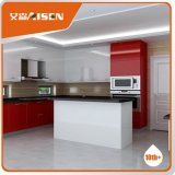 2016 New Style Modern Red High Gloss Lacquer Kitchen Cabinets Furniture