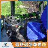Comprimir todo o carregador da roda do terreno 800kg mini para a exploração agrícola