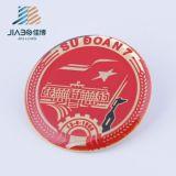 Impresión de metal personalizados con epoxi Pin Botón Badge