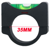 Optique vectorielle 35mm Acd Anti Cant Dispositif Cantilever Bubble Aluminium Round Mini Spirit Level pour Riflescope Rifle Portée