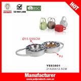Entfernbare Hundespielraum-Schüssel, zusammenklappbare Hundeschüssel (YE83801)
