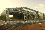 Edifício estrutural Prefab da vertente do metal do frame de aço
