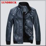 Куртка PU для людей в пальто способа хорошего качества