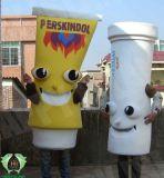 Hi 2013 Costume de la mascotte de crème glacée