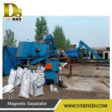Ligne de recyclage automatique pour l'acier décapant pour la séparation du cuivre, de l'aluminium et du fer