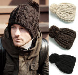 Beckham мода Вязание трикотажных зимой Red Hat