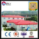 Het Chinese LichtgewichtGeprefabriceerd huis Van uitstekende kwaliteit van de Structuur van het Staal van het Comité (ZY204)