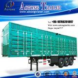 3 차축 45-60t 밴 Type Box Transport 무겁 의무 Semi Trailer (단계 현명한 선택, 이중 1-5 각 측) (LAT9400XXY)