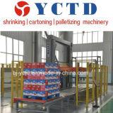 Automatische Palletizer Maschine für Wasser/Getränk mit Shrink-Satz-Kartonsatz